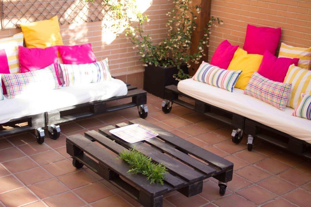 diy cmo se hace una mesa y unos sofs de palets por amaya x4duros - Sofas De Palets