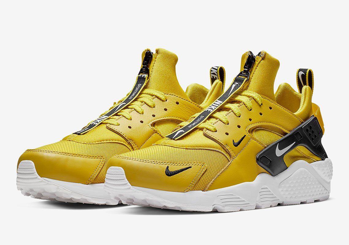 watch 0e9f9 803ac Nike Huarache Zip Bright Citron BQ6164-700  thatdope  sneakers  luxury   dope  fashion  trending