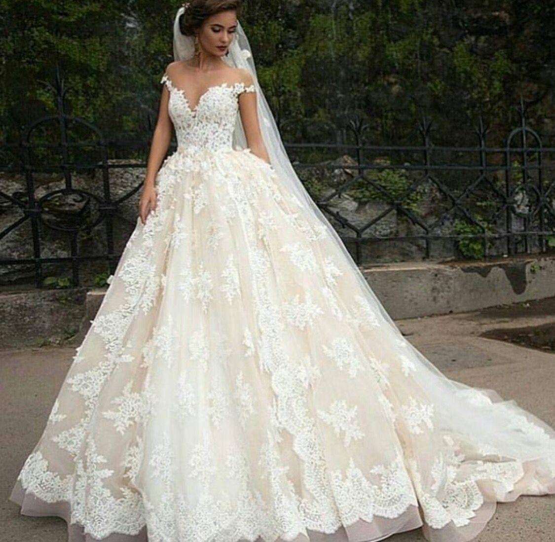 Vestidos de novia corte princesa pinterest