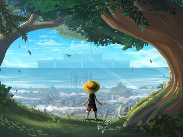 1440x3120 Monkey D Luffy One Piece Art 1440x3120 Resolution Wallpaper, HD Artist 4K Wallpapers, Images, Photos and Background - Wallpapers Den