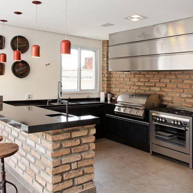Ideas, imágenes y decoración de hogares Cocinas, Casas y Rusticas