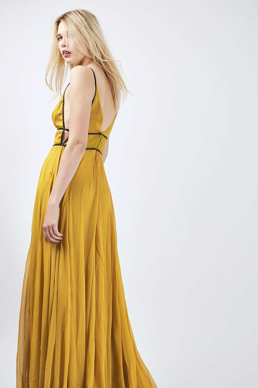 Chiffon Beaded Maxi Dress - Dresses - Clothing - Topshop ...