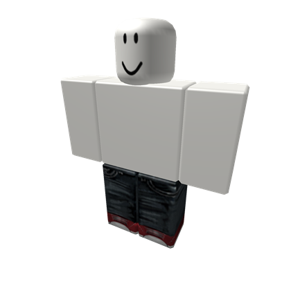 Jeans with Red Kicks - ROBLOX
