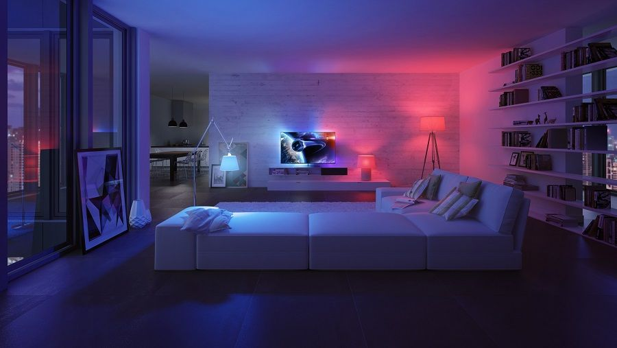 Review Philips Hue 2 0 Starter Kit Knowtechie Lighting