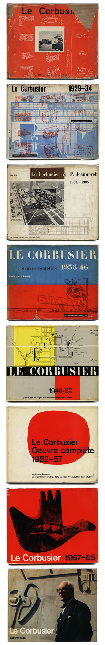 le corbusier oeuvre complete zurich and new york. Black Bedroom Furniture Sets. Home Design Ideas
