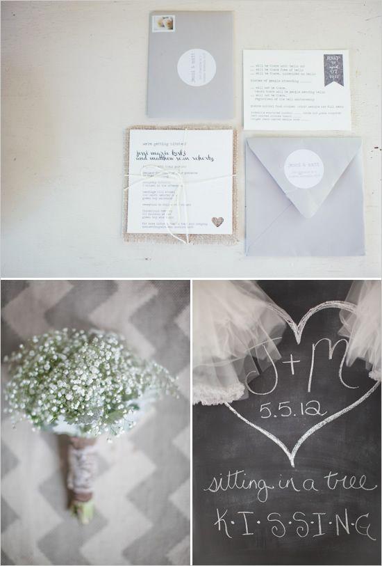 baby's breath wedding bouquet