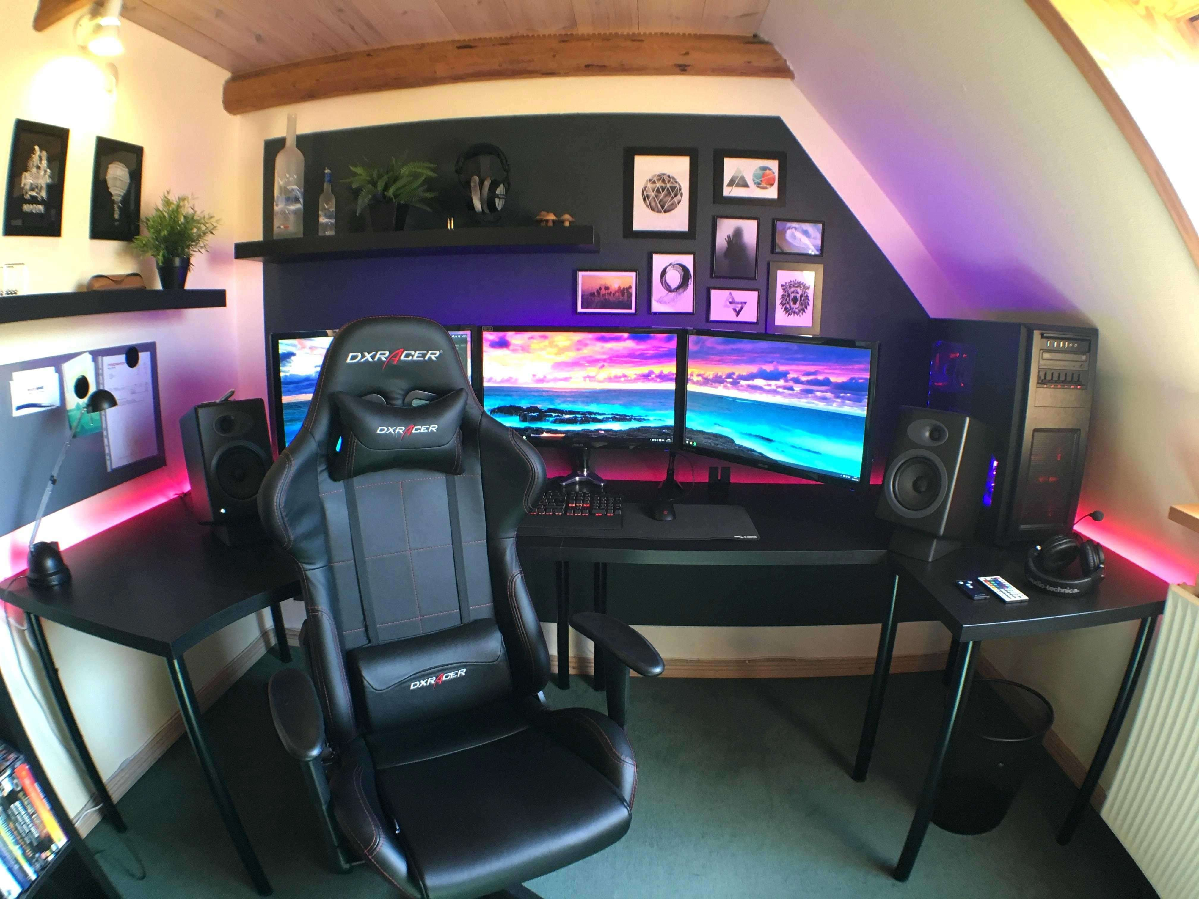 But now, i'm moving out and have even less stuff. Gaming Room Ideas Man Caves | camaxid.com | Small game ...