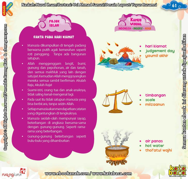 Download Ebook Juz Amma Bergambar 3 Bahasa for Kids, Fakta