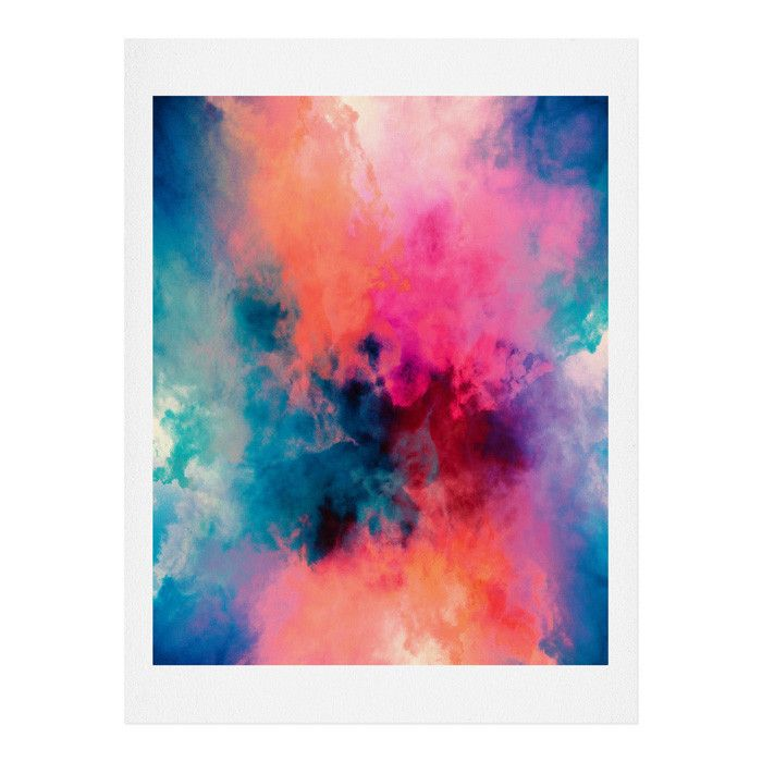 Caleb Troy Temperature Art Print Deny Designs Home Accessories