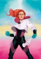 SPIDER-GWEN #21 MARY JANE WATSON VARIANT by Kevin Wada