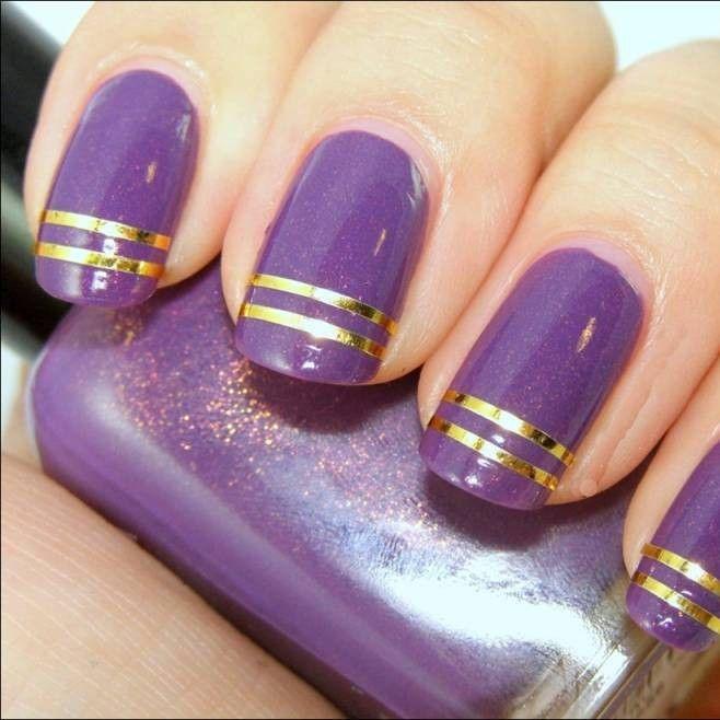 nueva coleccin de uas decoradas en esta ocacion se trata de diseos de uas violeta con mas de variantes uas decoradas violeta uas decoradas