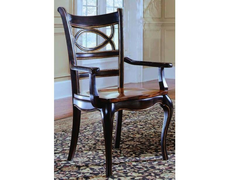 Pair Of Preston Ridge Oval Back Arm Chairs Wwood Seat  Hooker New Dining Room Chairs San Antonio Inspiration
