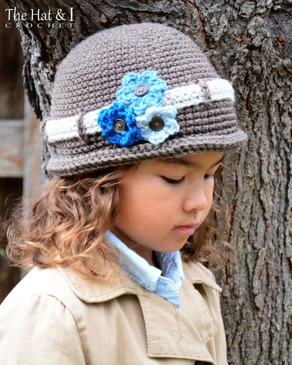 CROCHET PATTERN - His & Hers - crochet hat pattern for boys and ...