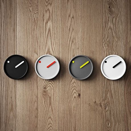 picto clock by steen georg christensen and erling andersen by rosendahl timepieces monoqi. Black Bedroom Furniture Sets. Home Design Ideas
