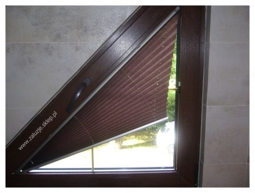 Triangular Window Treatments And Of Course The One I Most