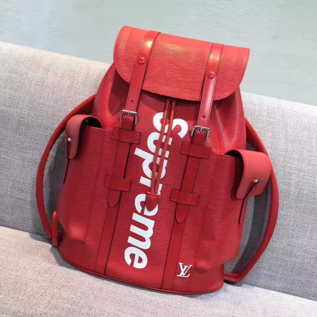 6f1d699fdad6 Louis Vuitton Supreme Christopher Backpack