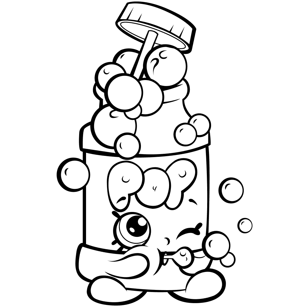 Shopkins Season 7 Pops Bubble Blower Coloring Page Shopkins Colouring Pages Shopkins Coloring Pages Free Printable Shopkin Coloring Pages