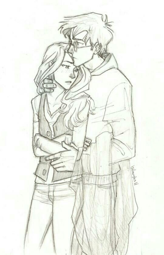 Abrazo Dibujos De Parejas Dibujos De Parejas Enamoradas Harry Potter Fan Art