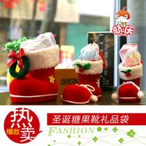 Boots Christmas decorations candy Christmas decorations gift bags ideas gift box Christmas stockings wholesale