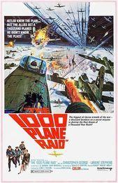 The 1000 Plane Raid  1969  movie poster magnet