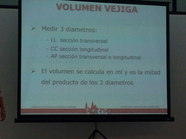 vejiga de volumen residual normal
