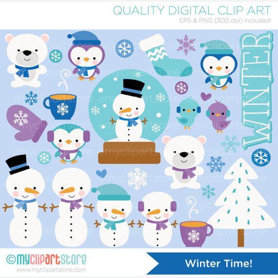 Winter Time Clip Art