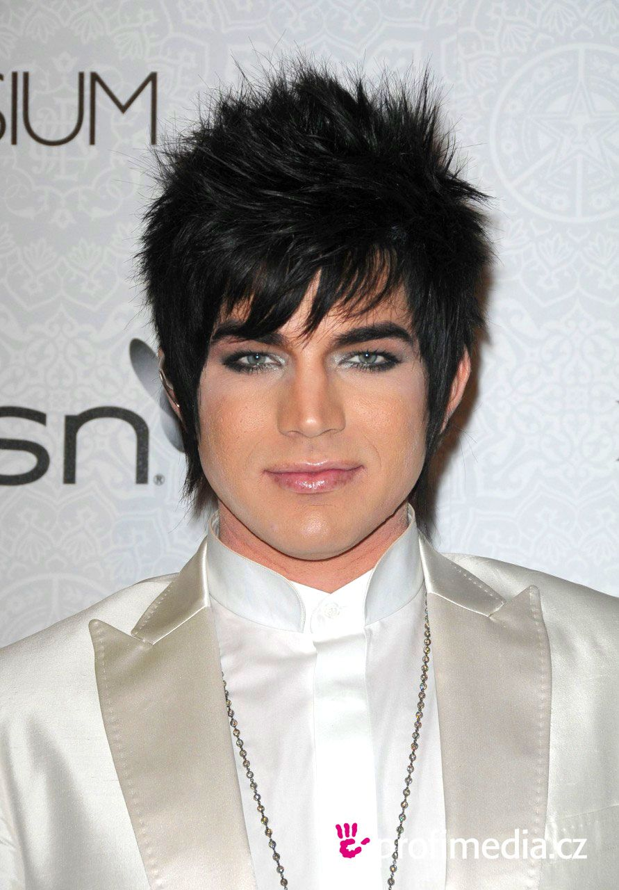 adam lambert goes acrostic trendy hair styles that will