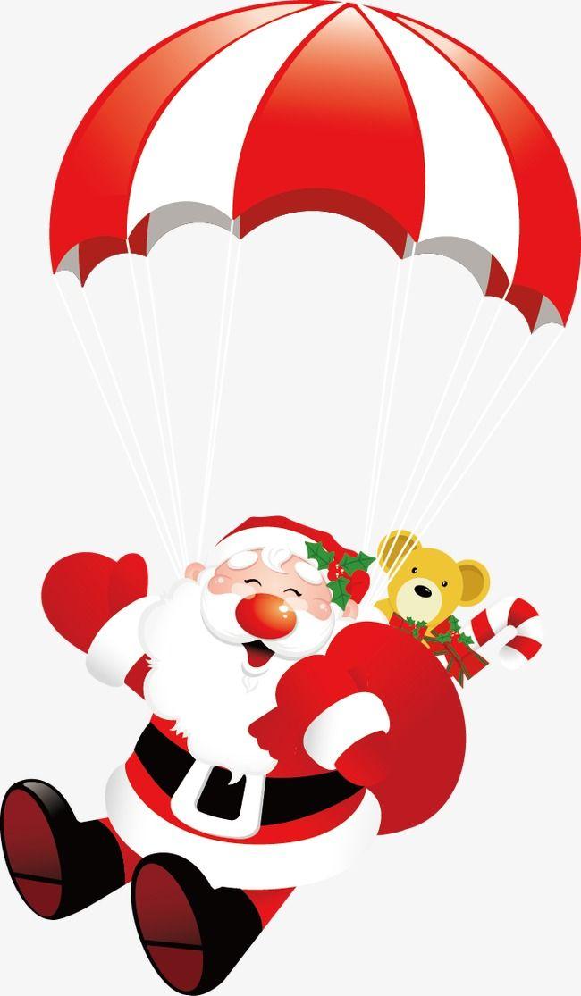Material De Vetor De Desenhos Animados De Papai Noel Desenhos