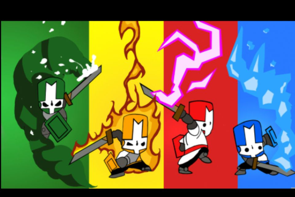 Castle Crashers Castle Crashers Castle Game Pictures