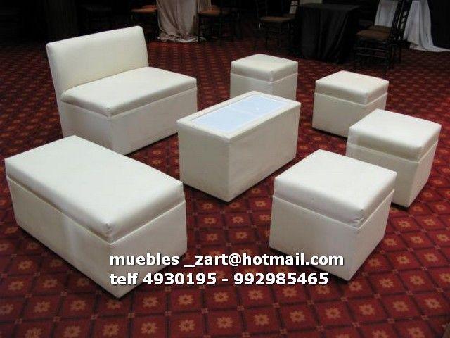 Salas lounge peru muebles para eventos salas lounge for Muebles para bar lounge
