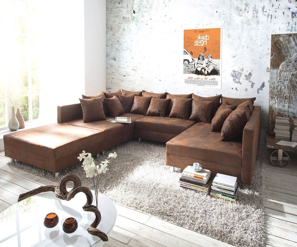 beautiful wohnzimmer ideen braune couch contemporary beliebt