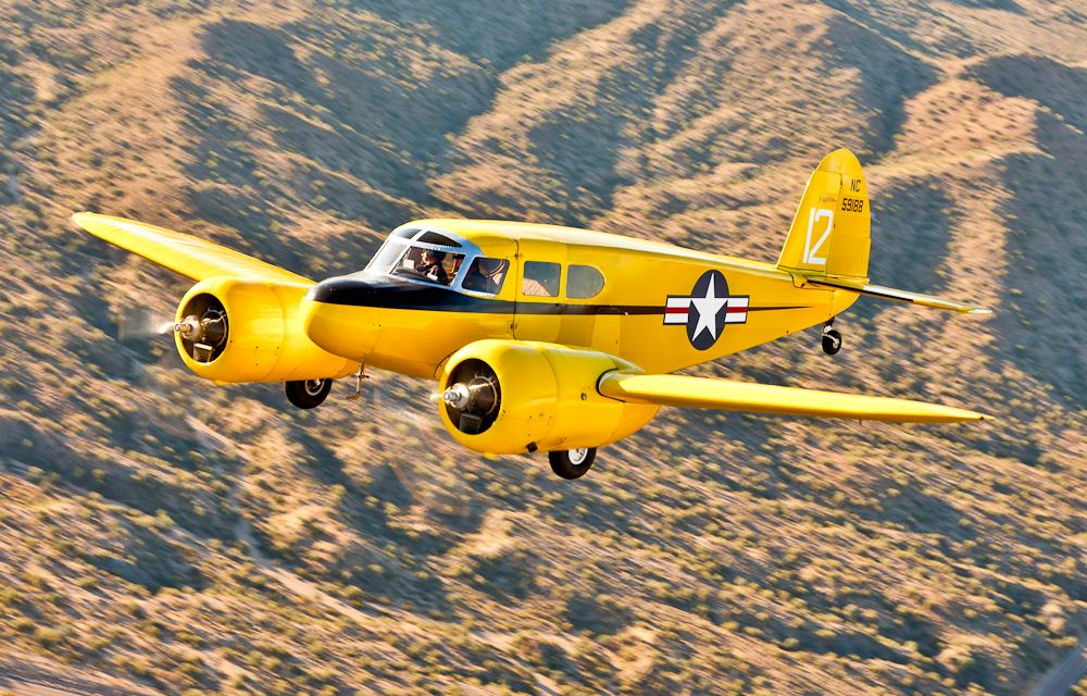 Cessna T50 Bamboo Bomber The Cessna AT17 Bobcat was a