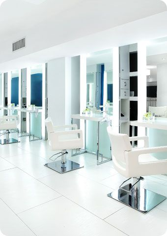 Love The Styling And Colors Hair Salon Interior Barber Shop Interior Salon Interior