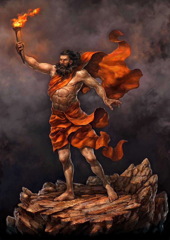 Artstation prometheus anton chilikin greek mythology artstation prometheus anton chilikin pan greek mythologyjoseph buycottarizona