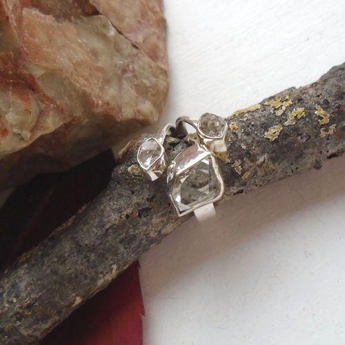 Herkimer-Diamant-Ring-17-5-mm-925-Sterling-Silber