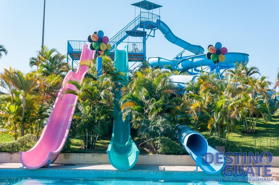 piscina de los toboganes parque acuatico splash pinterest