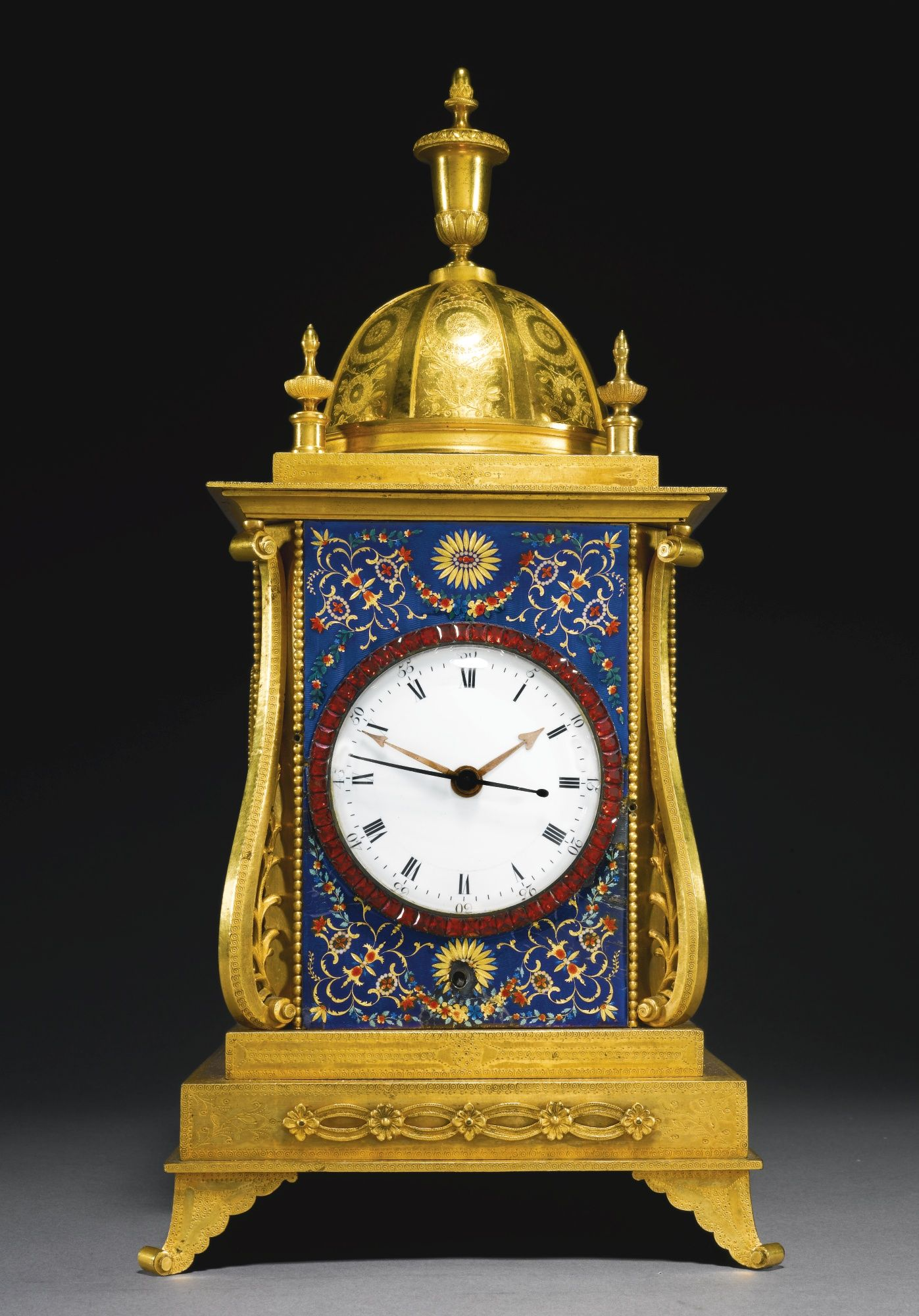 A George III Ormolu And Enamel Quarter Striking Musical Table Clock For The  Chinese Market, John Mottram, London, Circa 1780 | Lot | Sothebyu0027s |  Pinterest ...