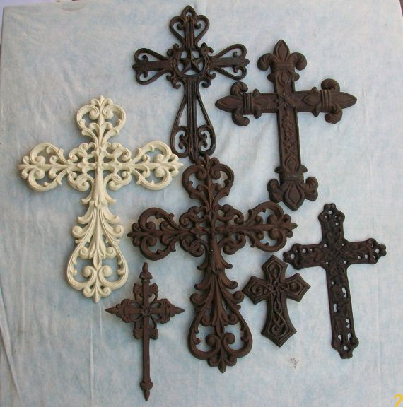 rustic chic crosses | Decorative Wall Crosses Rustic Western Shabby ...