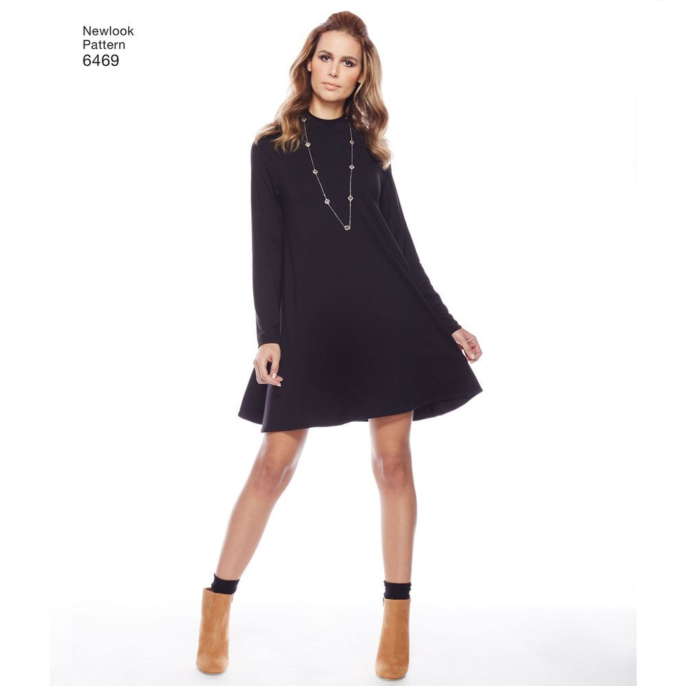 Missesu knit dresses with raglan sleeve can be mini length with
