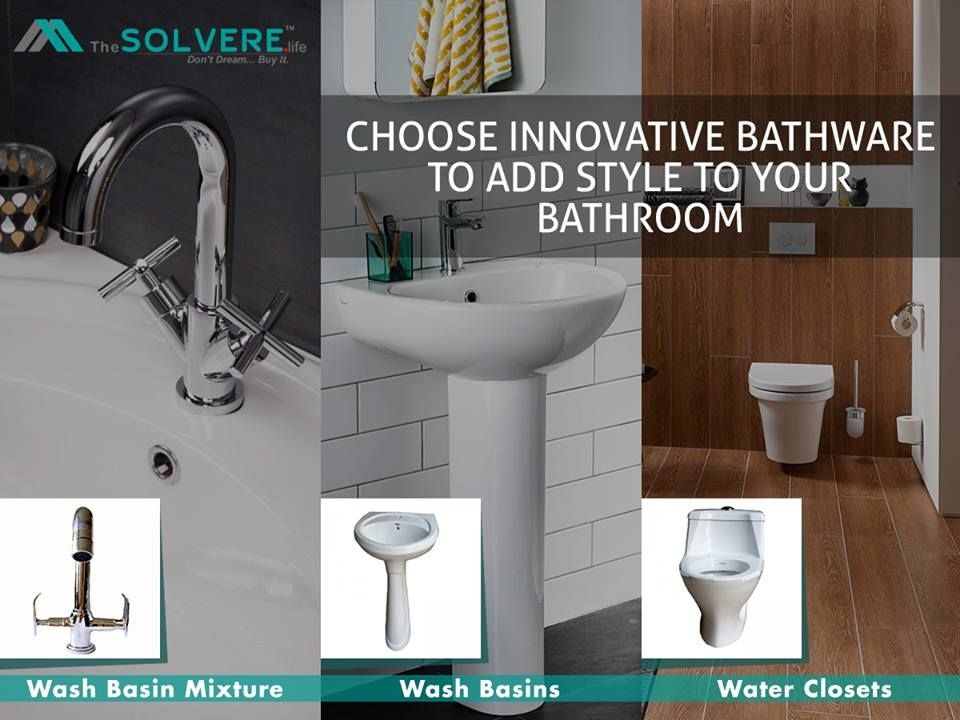 Choose Innovative #BATHWARE to Add Style to Your #BATHROOM. www ...