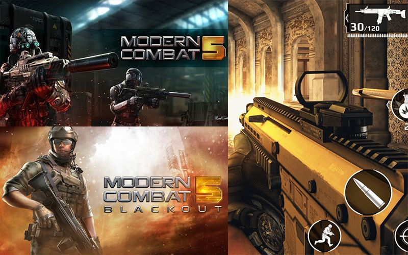 Download And Play Modern Combat 5 Apk Obb Data Files Offline In 2020 Combat Modern Ankara Skirt And Blouse