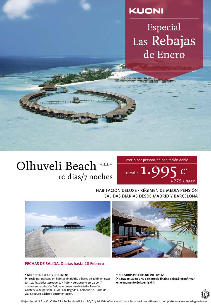 Las Rebajas de Enero - Maldivas Olhuveli Beach 4* 10 días/7 noches Deluxe Media Pensión ultimo minuto - http://zocotours.com/las-rebajas-de-enero-maldivas-olhuveli-beach-4-10-dias7-noches-deluxe-media-pension-ultimo-minuto/