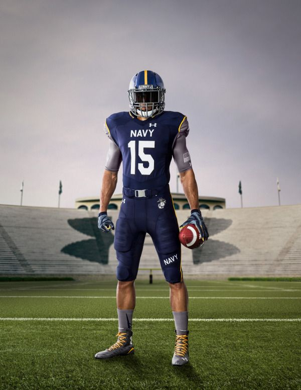 Navy Midshipmen Special Uniforms For 2015 Army Navy Game Navy