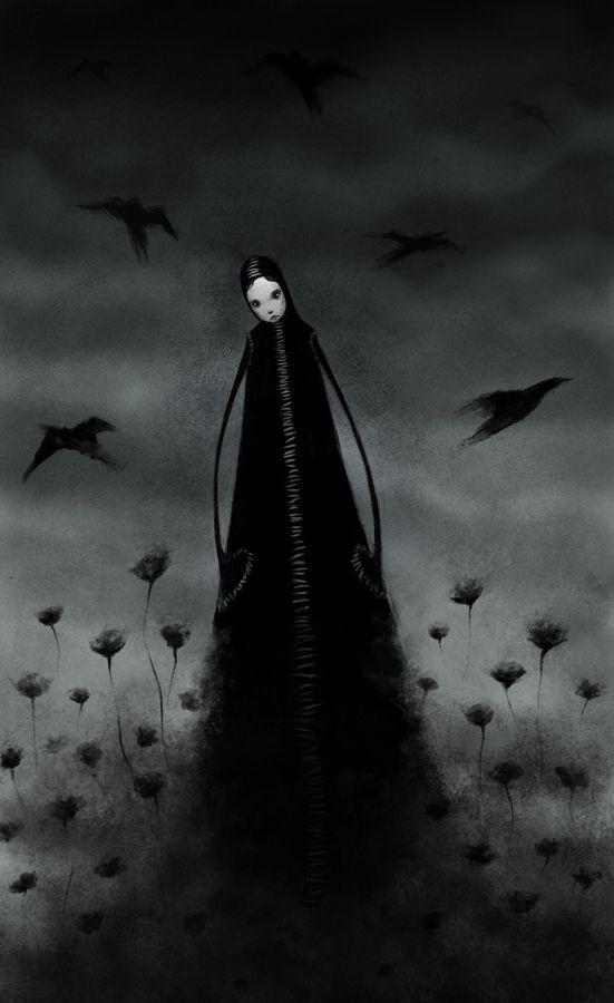 Dark Silence In Suburbia Art Dark Art Beautiful Dark Twisted Fantasy