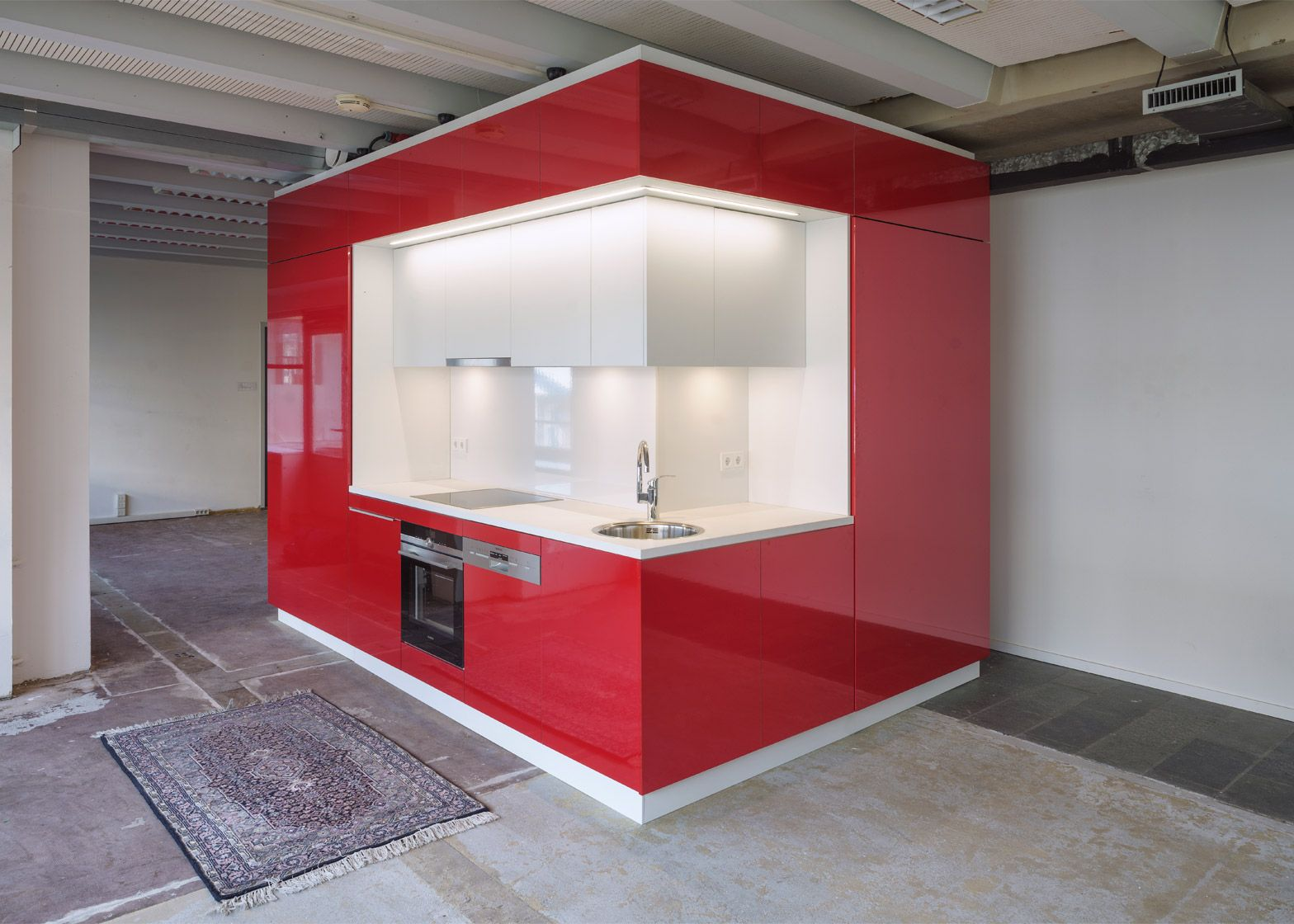 Atelier modular kitchens - Abandoned Buildings Can Be Converted Into Modular Homes