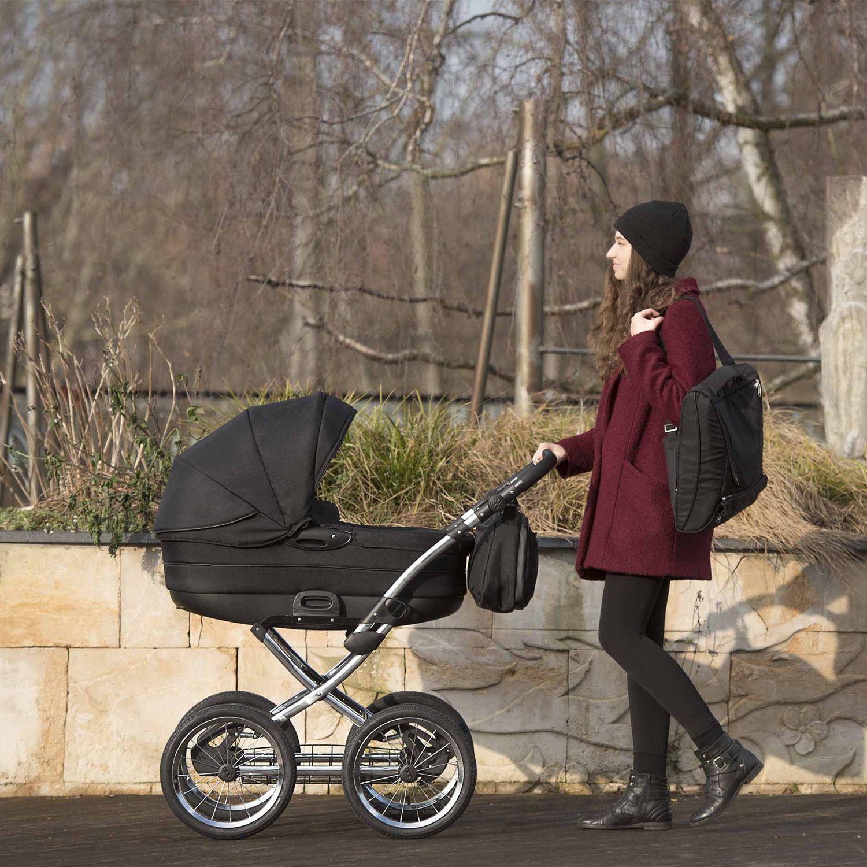 knorr-baby Kombi-Kinderwagen PRECIOSO - 14 Zoll Speichenräder ...