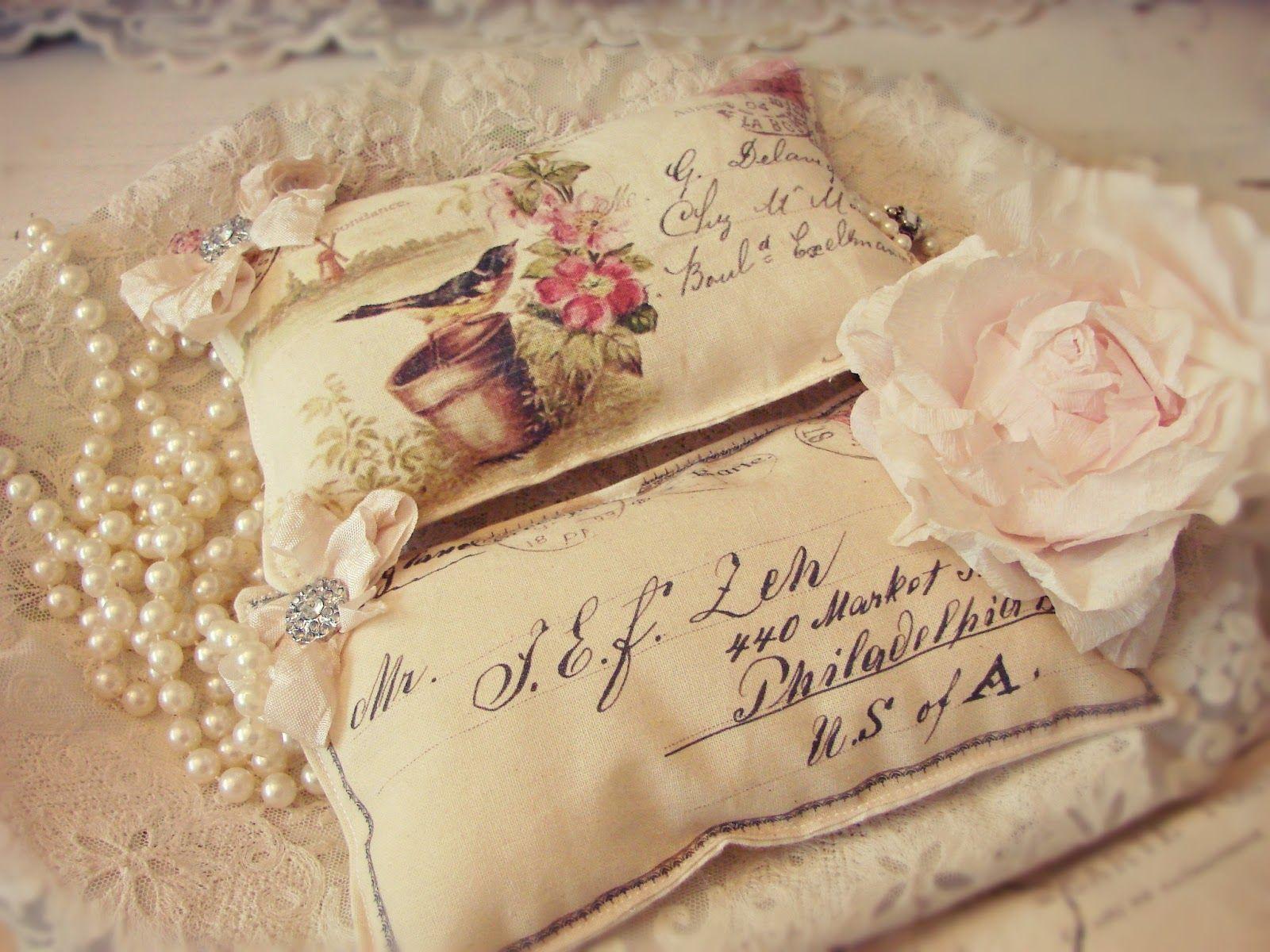 Waar nostalgie en romantiek elkaar ontmoeten...: Romantische post met een lekker geurtje..