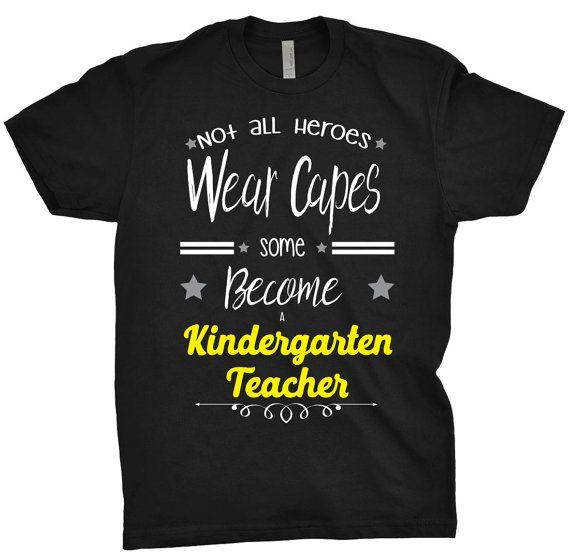 19 99 Kindergarten Teacher Shirt Not All Heroes Wear Capes Some