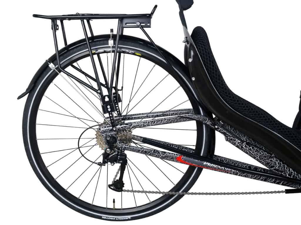 Popular Recumbent Trike Rear Wheel Recumbent Bike Workout