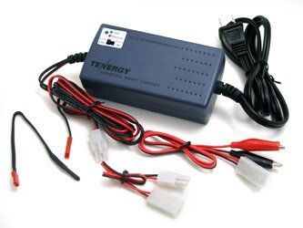12V with cha Tenergy Smart Universal Charger for NiMH NiCd Battery pack 7.2V